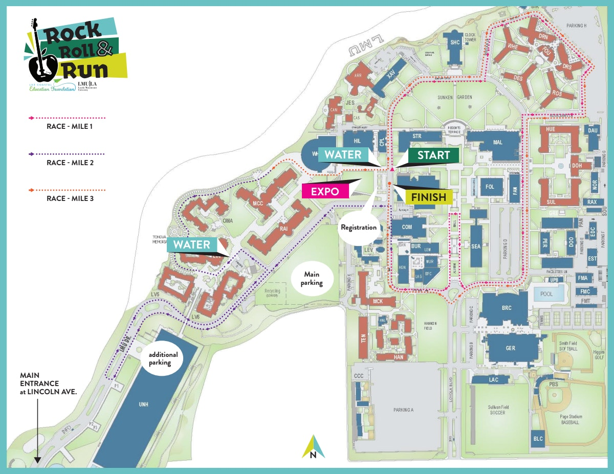 Course map for map